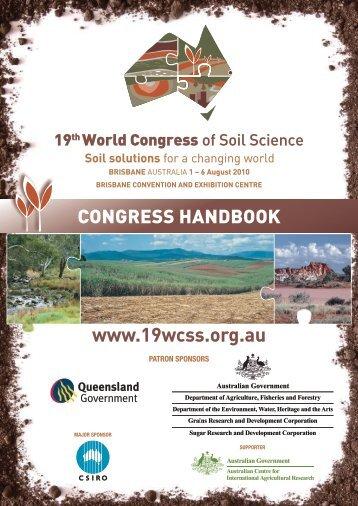 Congress Handbook - International Union of Soil Sciences