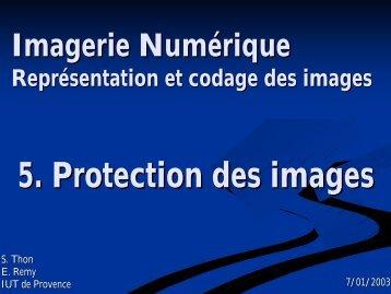 transparents du cours en PDF - IUT d'Arles