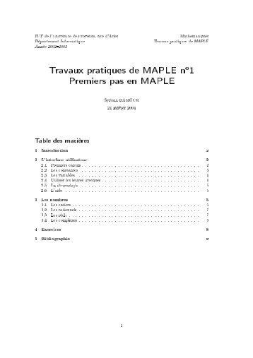 1 - IUT d'Arles