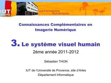 Chapitre 3 - Le systeme visuel humain.pdf - IUT d'Arles