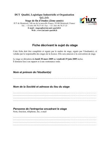 stage dating montreuil Offres de stage offres vendanges job dating accÈs candidats se former rÉpertoire des formations formations initiales  cfppa montreuil bellay route de méron.