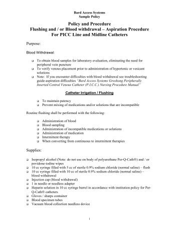 Free Professional Resume » iv therapy and blood withdrawal ...