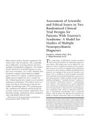 Assessment of Scientific and Ethical Issues in Two Randomized ...