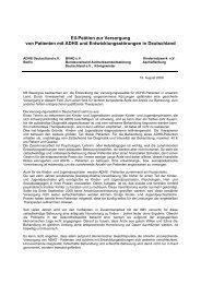 Informationen zur Eil-Petition