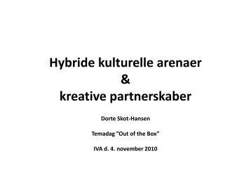 Hybride kulturprojekter