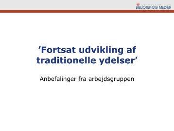 Anbefalinger - IVA