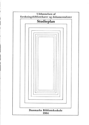 Core Concepts in LIS/Fod_uddannelsen_1984.pdf - IVA