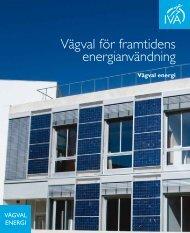 Vägval för framtidens energianvändning - IVA