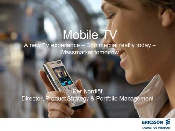 Mobile TV_IVA Presentation