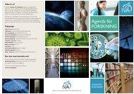 Agenda för FORSKNING - IVA