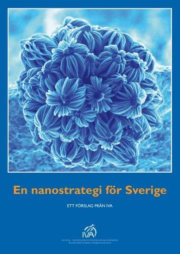 En nanostrategi för Sverige - ett förslag från IVA