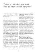 Kvalitet som konkurrensmedel med ett internationellt perspektiv - IVA - Page 4