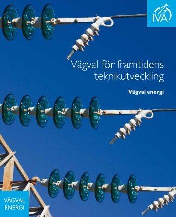 Vägval för framtidens teknikutveckling - IVA