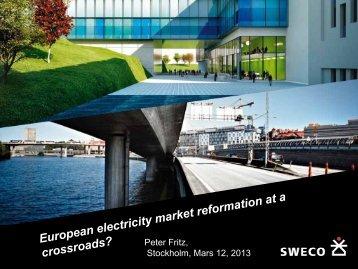 Peter Fritz, Stockholm, Mars 12, 2013 - IVA
