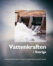 Vattenkraften i Sverige - IVA