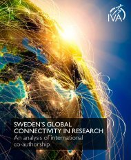 SWEDEN'S GLOBAL CONNECTIVITY IN RESEARCH An ... - IVA