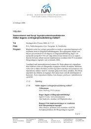 Inbjudan - Kallelse - IVA