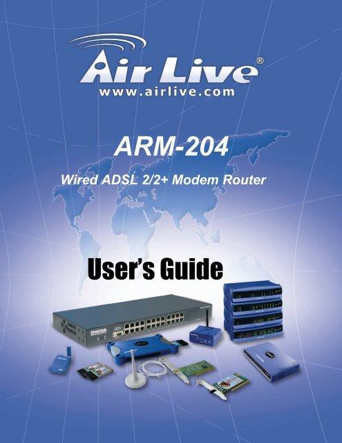 AIRLIVE ARM-204 V2 USB DRIVER