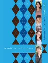 Student Handbook - Irvine Valley College