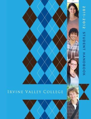 Student Handbook - Irvine Valley College