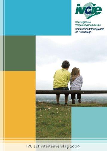 IVC activiteitenverslag 2009 - Interregionale Verpakkingscommissie