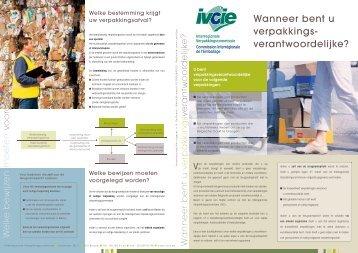 verantwoordelijke? - Interregionale Verpakkingscommissie