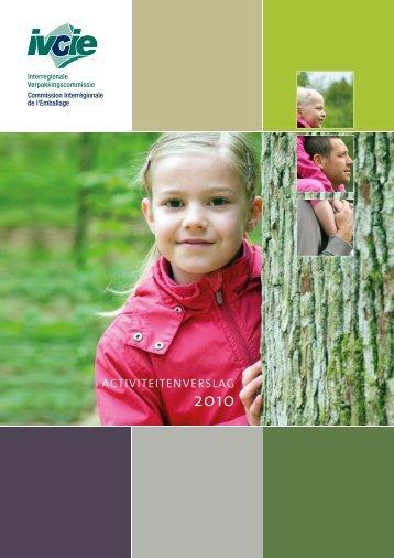 Activiteitenverslag 2010 - Interregionale Verpakkingscommissie