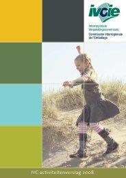 IVC activiteitenverslag 2008 - Interregionale Verpakkingscommissie