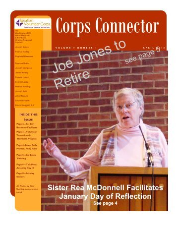 April 2012 Newsletter 4-13-12.pub - Ignatian Volunteer Corps