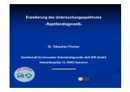 Vortrag Reptiliendiagnostik sf - IVD GmbH