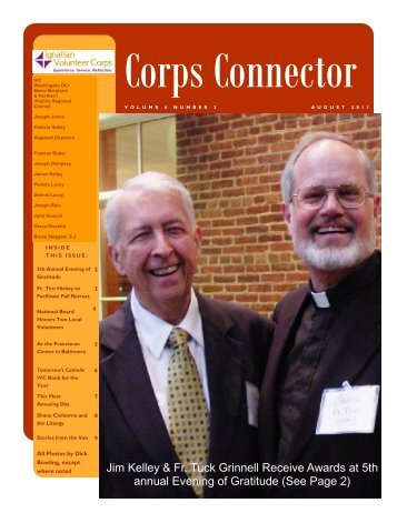 August 2011 Newsletter revised.pub - Ignatian Volunteer Corps
