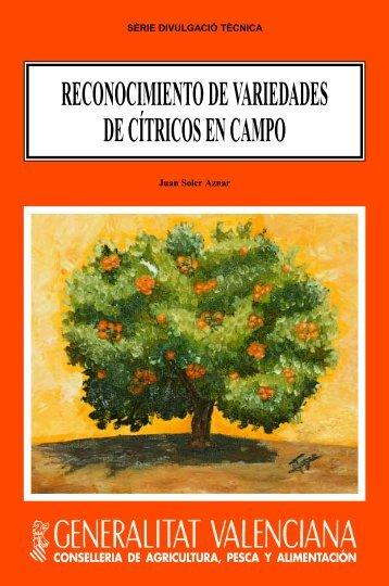 reconocimiento de variedades de cítricos en campo - IVIA
