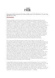 Annotatie bij Hof van Justitie EU 9 februari 2012, zaak C-277 ... - IViR