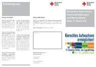 Drk-Messestand · Halle 11 Stand 315 Veranstaltungen Fachkongress