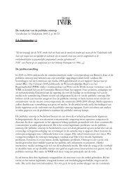 De toekomst van de publieke omroep Verschenen in: Mediaforum, 2005 ...