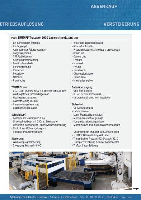 Download Datenblatt als .pdf - Auktionshaus Köck