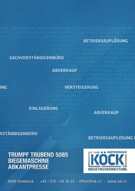Download Datenblatt als .pdf - Auktionshaus Köck