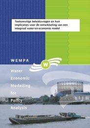 Toekomstige beleidsvragen en hun implicaties voor de ontwikkeling ...