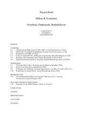 2009-5 - VU University, Institute for Environmental Studies - Vrije ...