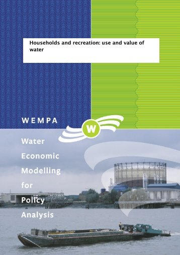 WEMPA working paper-01 - VU University, Institute for ...