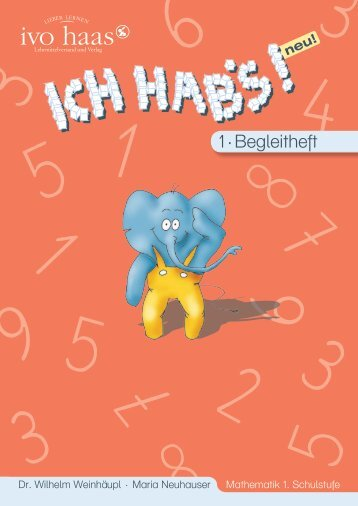 Ich habs 1 · Lehrerbegleitheft - Ivo Haas Lehrmittelversand und Verlag