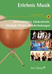Zusatzmaterial Band 4 - Ivo Haas