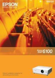 Epson EMP-6110 Brochure