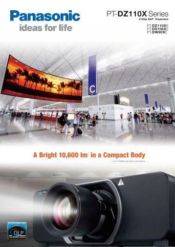 Panasonic PT-DS100XE Brochure