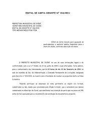 edital de carta convite n° 016/2011 - Prefeitura Municipal de Ivorá
