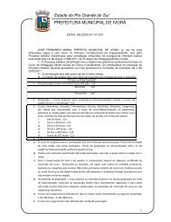 EDITAL SELEÇÃO N.º 01-2011 Processo Seletivo Simplificado para ...