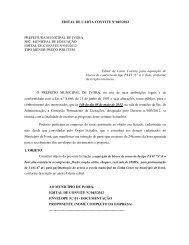 edital de carta convite n°045/2012 prefeitura municipal de ivorá sec ...