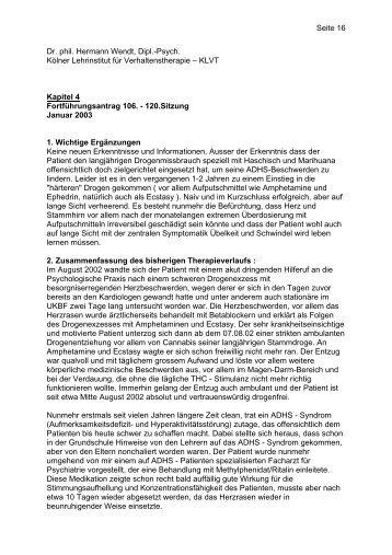 Fortführungsantrag 106. - 120.sitzung - Kompetenzprofil Dr ...