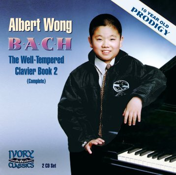 The Well-Tempered Clavier, Book 2 - Ivory Classics