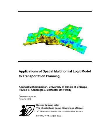 Applications of Spatial Multinomial Logit Model to ... - IVT